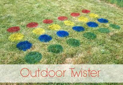 Yard-Friendly Outdoor Twister Game