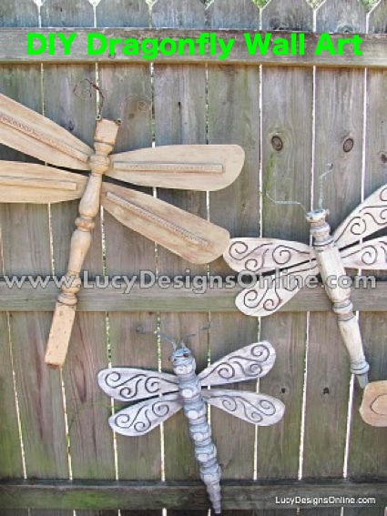 How To Create Dragonfly Wall Art Homestead Amp Survival
