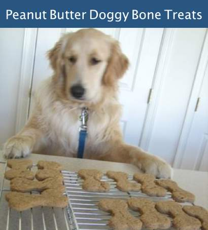 How To Make Peanut Butter Doggie Bone Treats