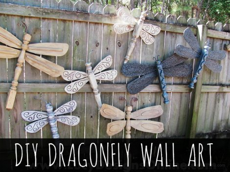 Dragonfly Wall Art how to create dragonfly wall art - homestead & survival
