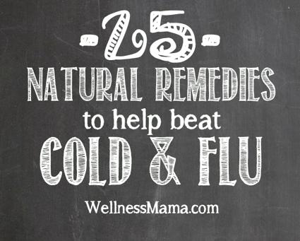 25 Natural Remedies For Treating Colds And Flu