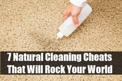 Easy Cleaning With 7 Natural Cleaning Cheats