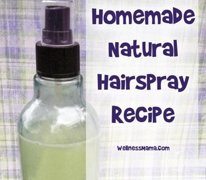 How To Make Homemade Natural Hairspray