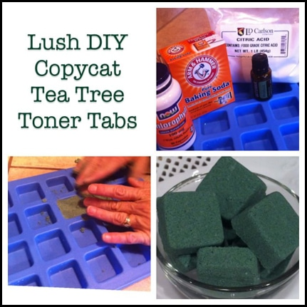 How To Make DIY Lush Copycat Toner Tabs