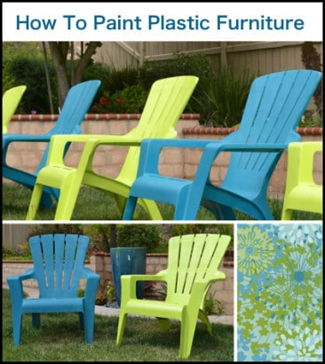 How To Paint Plastic Furniture Homestead Survival