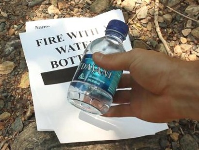 How-To-Start-A-Fire-With-A-Water-Bottle