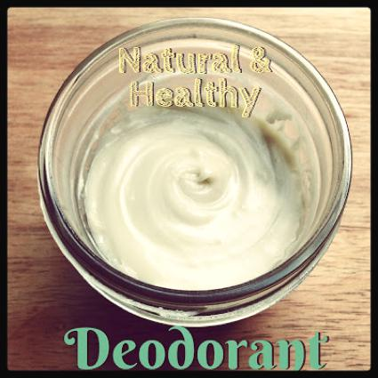 Naturally Fresh Deodorant: Geranium And Cedarwood Scent