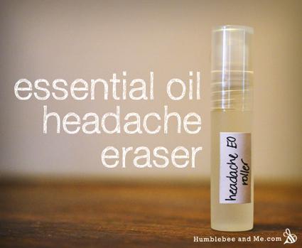 Skip The Ibuprofen: Essential Oil Treatment For Headaches