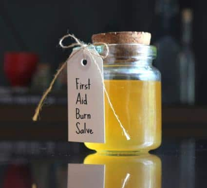 Soothing Burn Salve Recipe