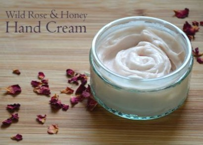 Wild-Rose-And-Honey-Hand-Cream-Recipe