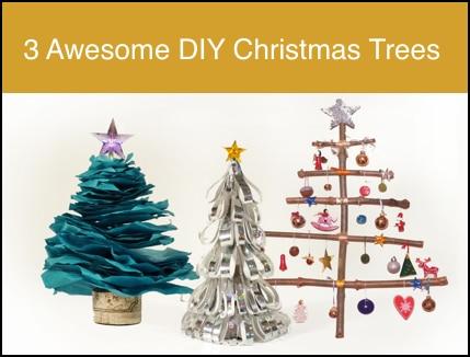 3 Awesome DIY Christmas Trees