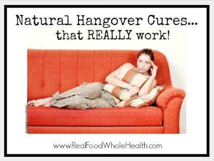 Natural Hangover Cures Recipes