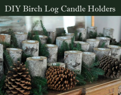 DIY-Christmas-Decorating-Birch-Log-Candle-Holders