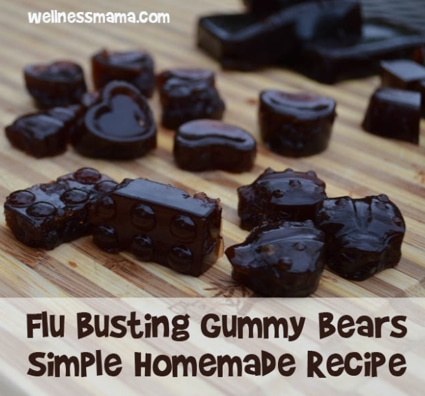 How To Make Flu Busting Gummy Bears