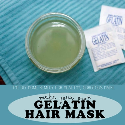 DIY Gelatin Hair Mask Recipe For Soft Hair