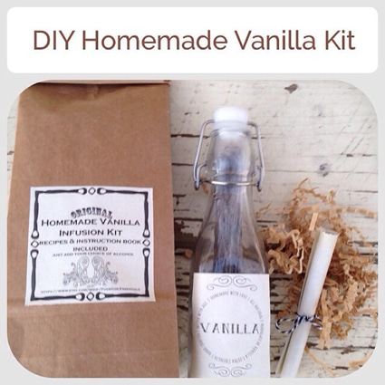 DIY Homemade Vanilla Extract Kit