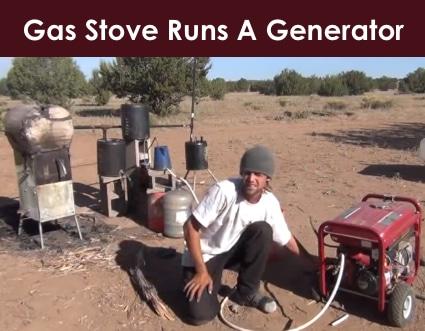 Gas Stove Runs A Generator