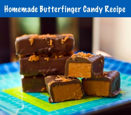 Homemade Butterfinger Candy Recipe