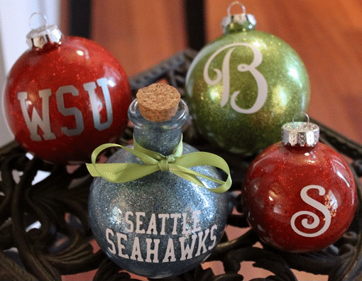 How To Make Personalized Christmas Ornaments - Homestead ...
