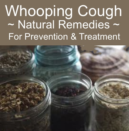 Whooping Cough: Natural Remedies For Prevention And Treatment