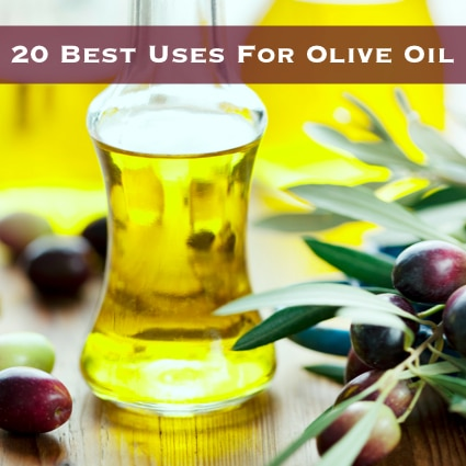 20 Best & Unusual Uses For Olive Oil