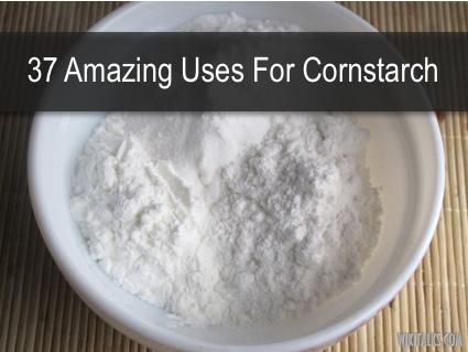 37 Amazing Uses For Cornstarch