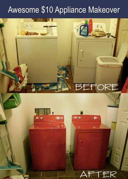 Awesome $10 Appliance Makeover