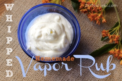 DIY Whipped Homemade Vapor Rub