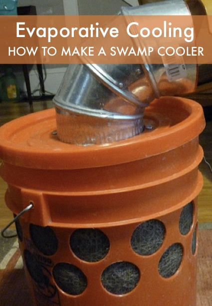 Evaporative Cooling – How To Make A Swamp Cooler