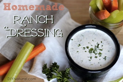 Healthy Homemade Ranch Dressing Recipe