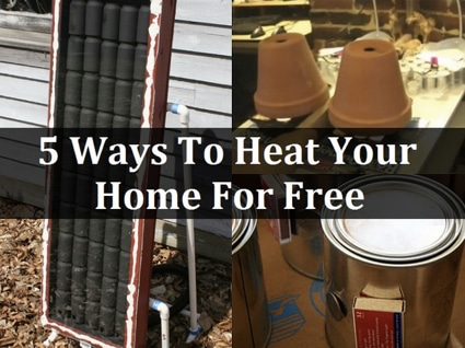 Heating Home Solutions: 5 Ways To Heat Your Home For Free | Homestead ...
