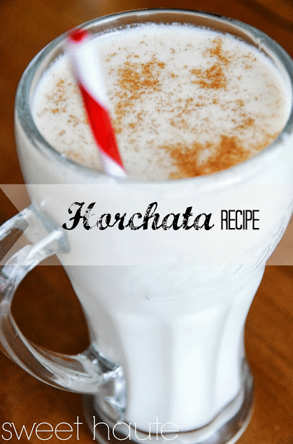 Homemade Horchata Drink Recipe