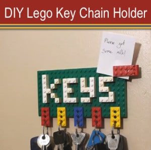 How To Make A Lego Key Chain Holder