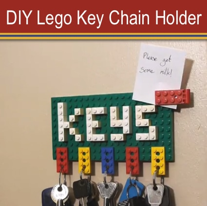How To Make A Lego Key Chain Holder Homestead Survival