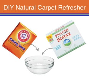 Natural Cleaning Solution: DIY Natural Carpet Refresher