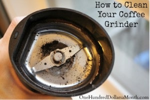 Cleaning Tips: How To Clean Your Coffee Grinder