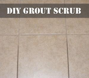 DIY Grout Scrub