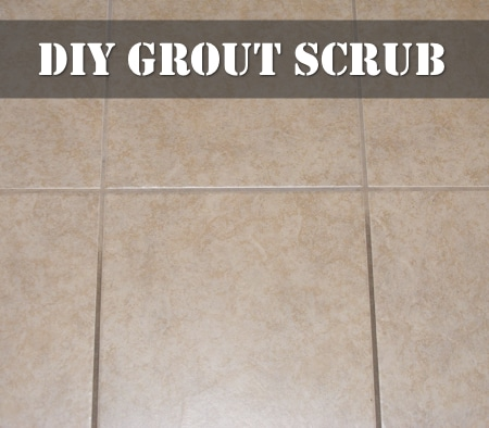 DIY Grout Scrub