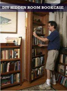 DIY Hidden Room Bookcase
