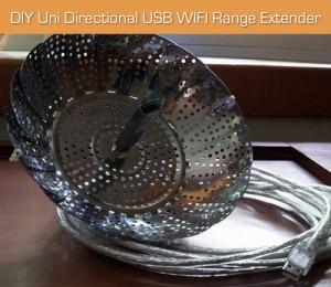 DIY Uni-Directional USB WIFI Range Extender
