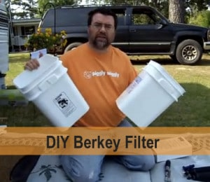 How To Build A Cheap Berkey Water Filter System