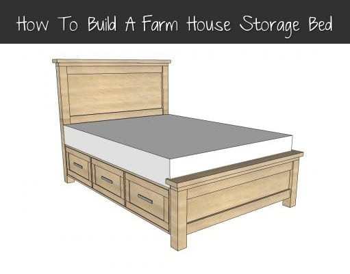 How-To-Build-A-Farmhouse-Storage-Bed