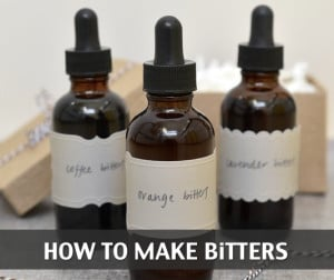 How To Make Bitters