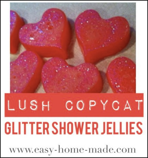 How To Make Lush Glitter Shower Jellies (Copycat Recipe)