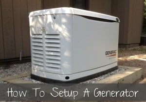 How To Set Up A Home Generator