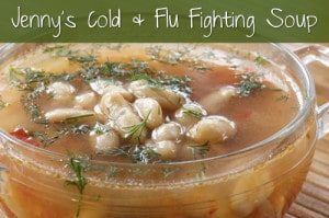 Jenny's Cold & Flu Fighting Soup