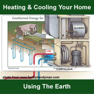 Heating and Air Conditioning Using The Earth