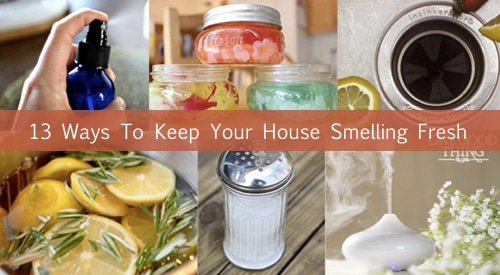 Instructions For 13 Odor Eliminators To Keep Your House Smelling Fresh