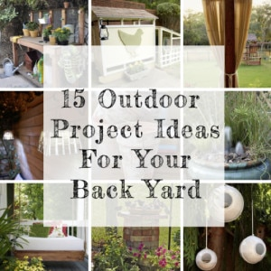 15 Backyard Design Ideas