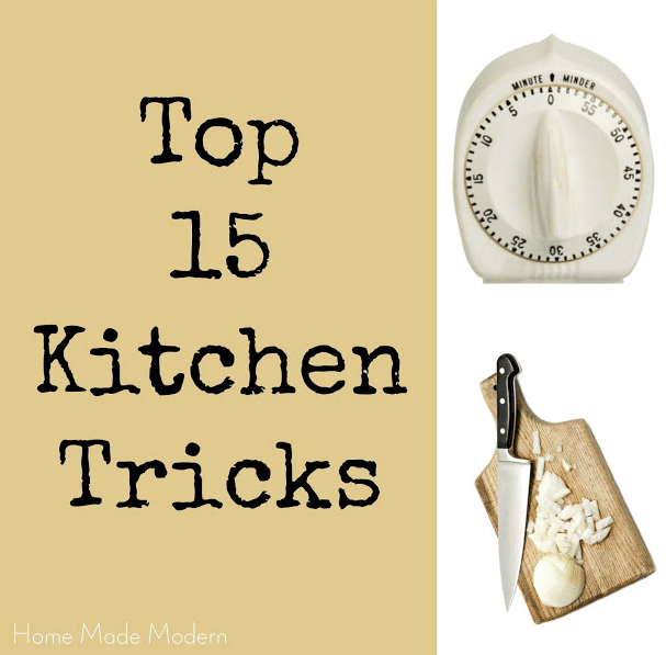15 Kitchen Time-Saving Tricks